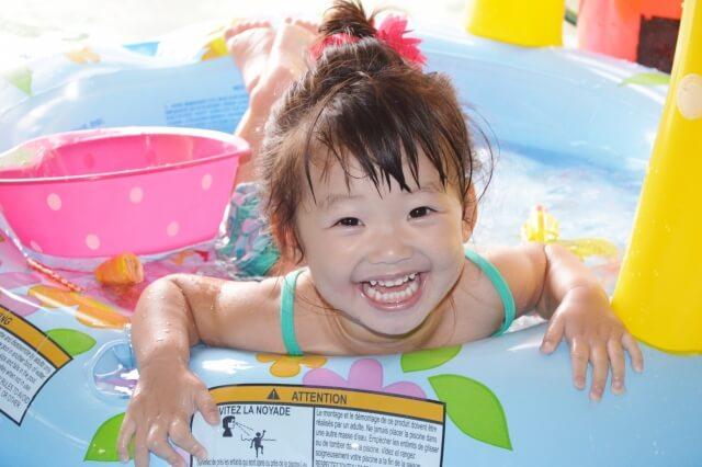 保育園のプール遊び,プール遊び,園児 プール